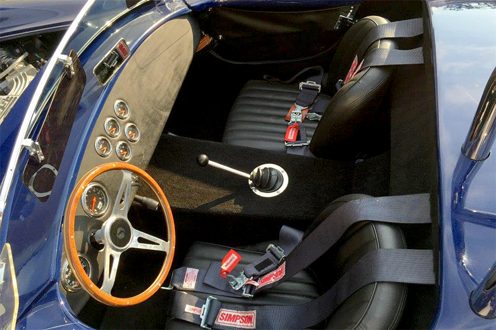 1965 SHELBY COBRA ROADSTER RE-CREATION - Interior - 188151