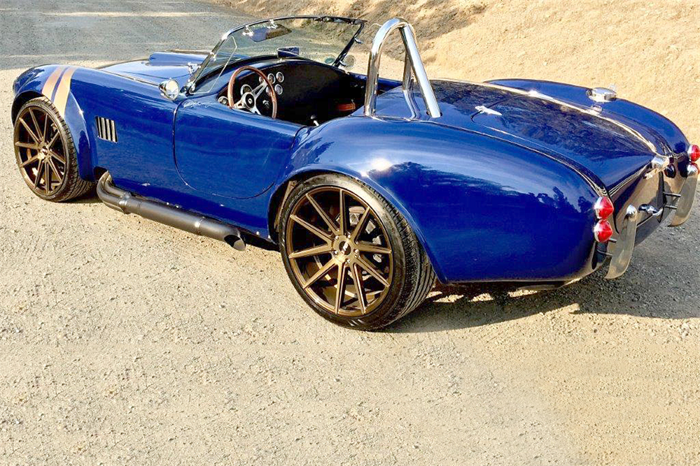 1965 SHELBY COBRA ROADSTER RE-CREATION - Rear 3/4 - 188151