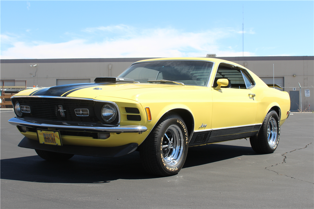 1970 FORD MUSTANG MACH 1 FASTBACK - Front 3/4 - 188154