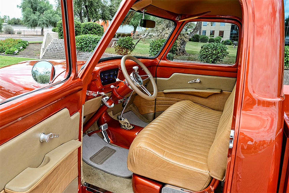 1955 FORD F 100 CUSTOM PICKUP Interior 188155