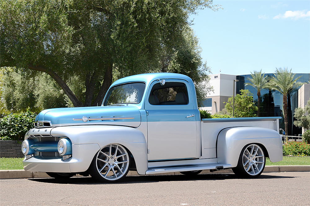 1952 ford f1 paint colors