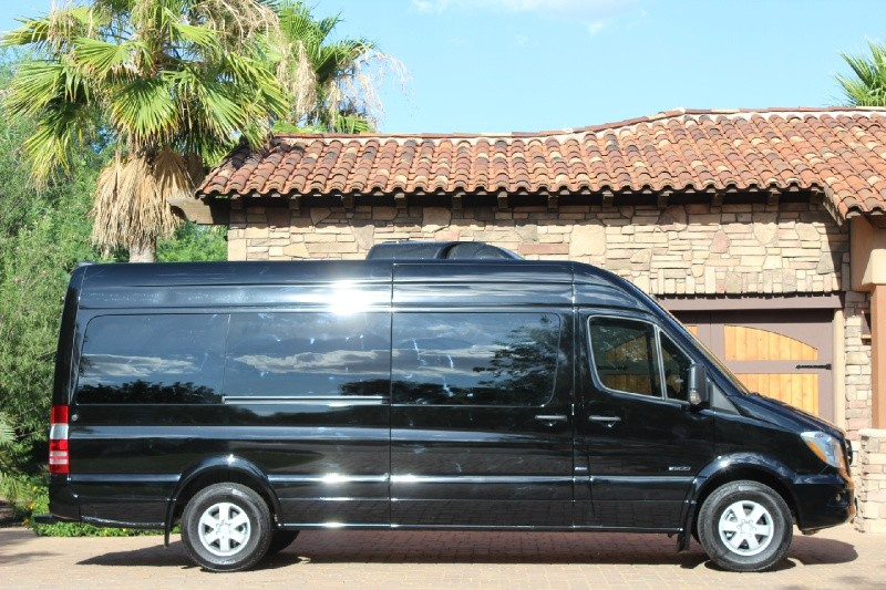2015 MERCEDES-BENZ SPRINTER LIMOUSINE CONVERSION - Side Profile - 188263