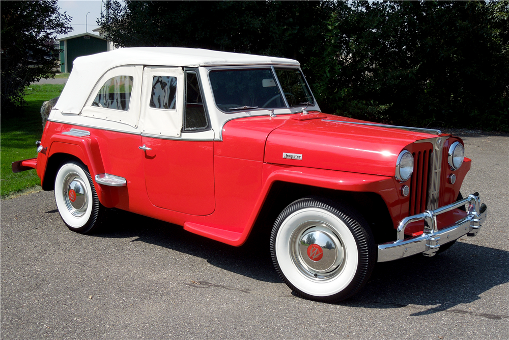 1949 WILLYS JEEPSTER CONVERTIBLE - Front 3/4 - 188456