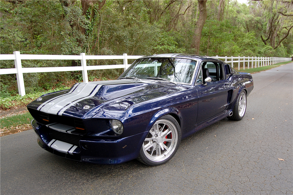1968 FORD MUSTANG CUSTOM FASTBACK - Front 3/4 - 188457