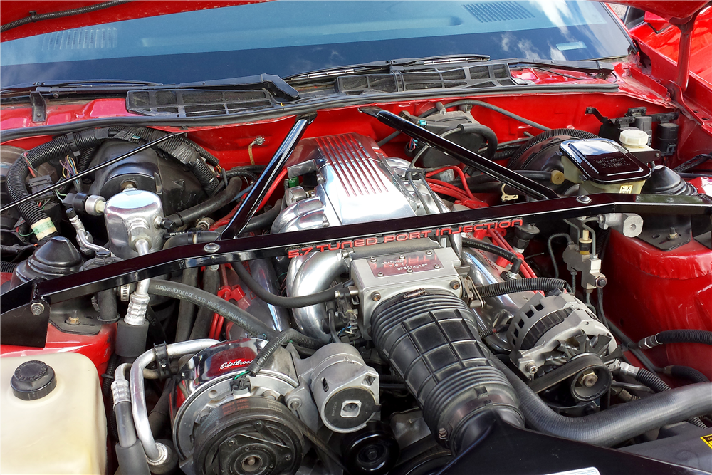 1990 CHEVROLET CAMARO IROC Z - Engine - 188468