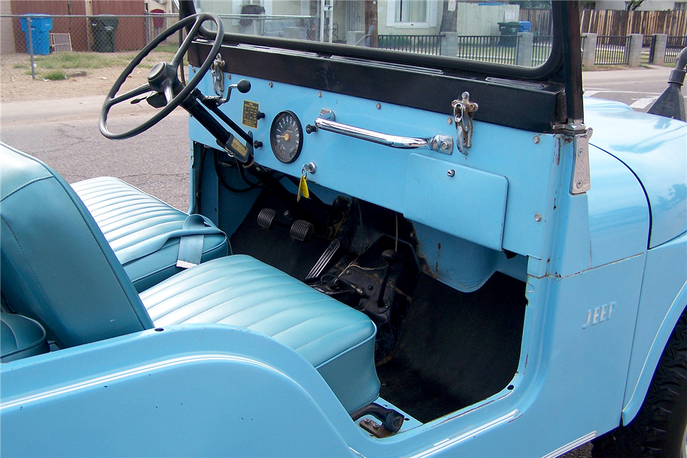 1965 JEEP CJ-2  - Interior - 188469