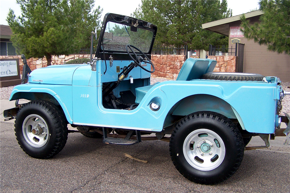 1965 JEEP CJ-2  - Rear 3/4 - 188469