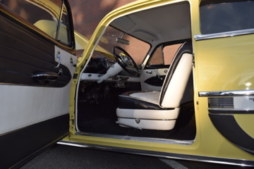 1954 CHEVROLET 210 DEL RAY CUSTOM 2-DOOR POST - Interior - 188470