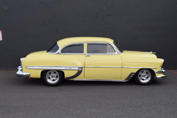 1954 CHEVROLET 210 DEL RAY CUSTOM 2-DOOR POST - Side Profile - 188470