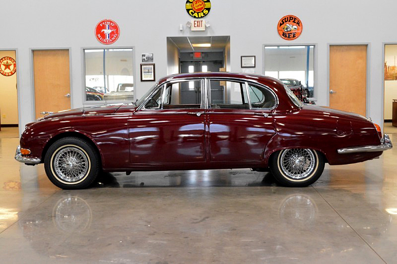 1966 JAGUAR 3.8S - Side Profile - 188471