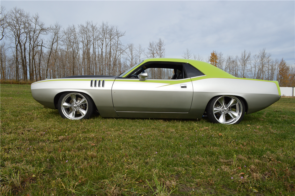 1970 PLYMOUTH 'CUDA CUSTOM HARDTOP - Side Profile - 188481