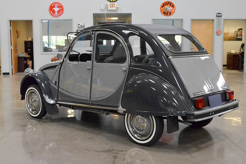 1981 CITROEN 2CV ROLL-TOP - Rear 3/4 - 188485