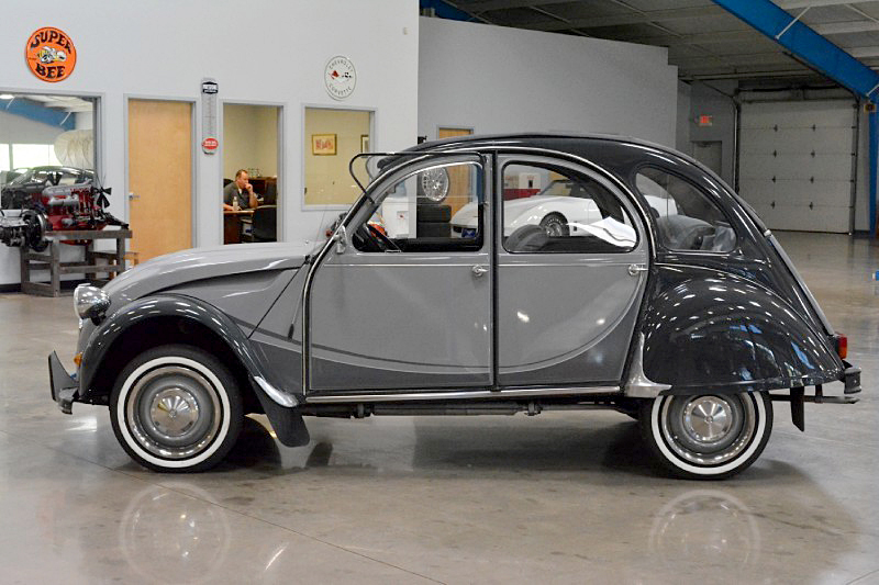 1981 CITROEN 2CV ROLL-TOP - Side Profile - 188485