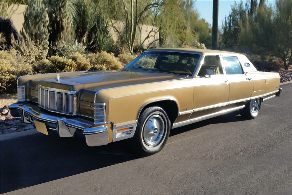 1975 Lincoln Continental 4 Door Sedan 188498