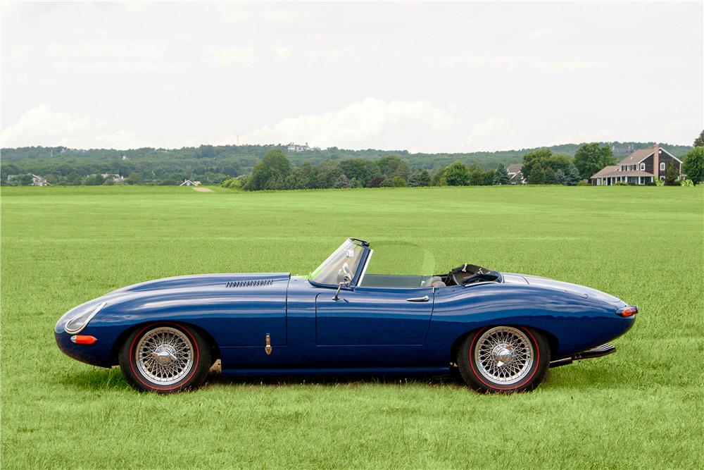 1965 JAGUAR XKE SERIES I CUSTOM CONVERTIBLE - Side Profile - 188507