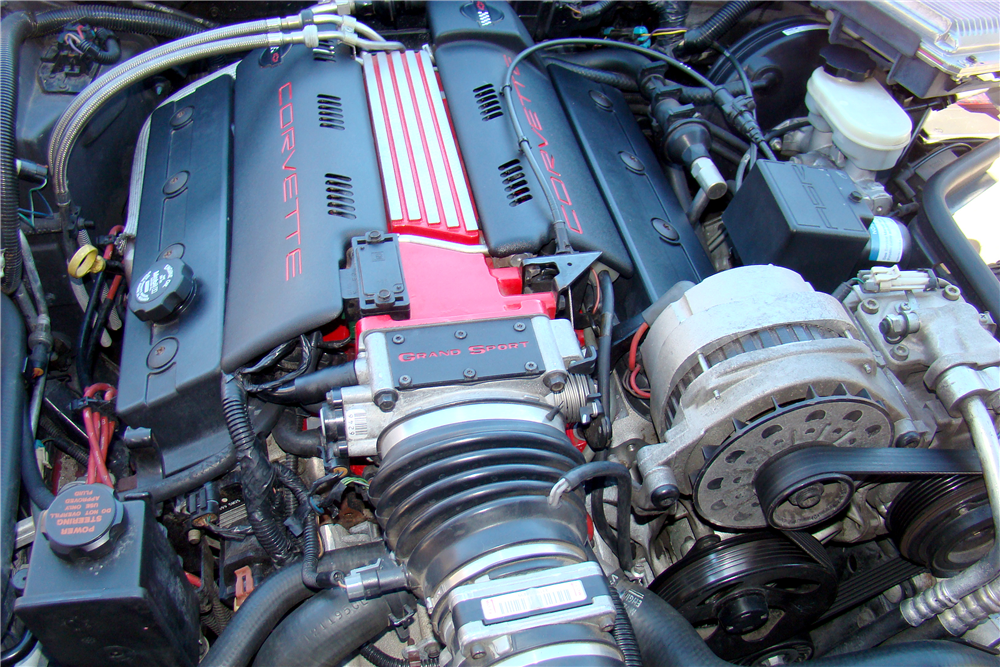 1996 CHEVROLET CORVETTE CONVERTIBLE - Engine - 188508