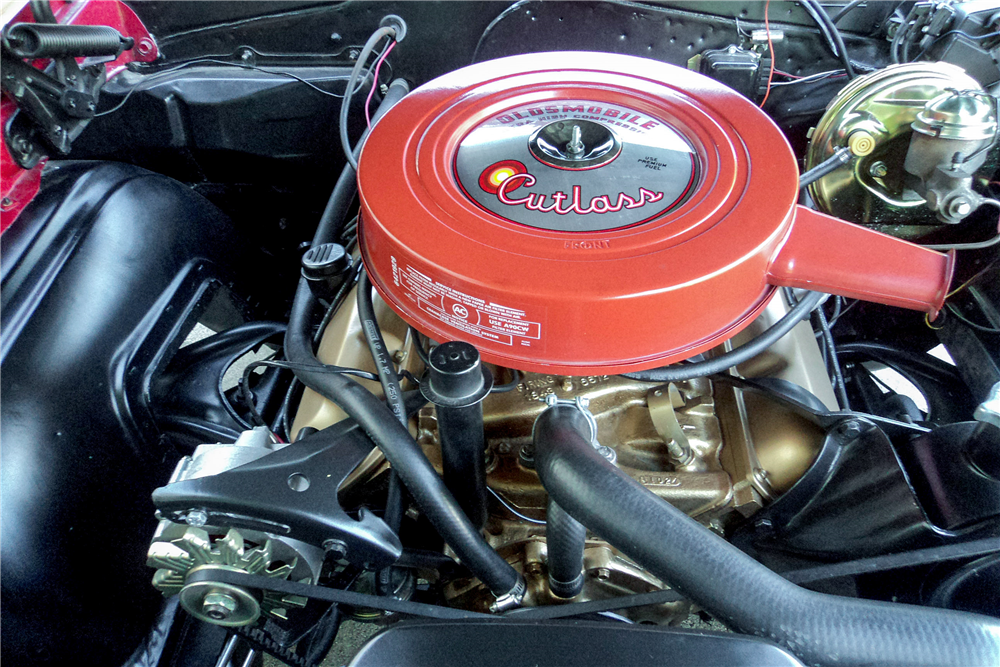1966 OLDSMOBILE CUTLASS CONVERTIBLE - Engine - 188510