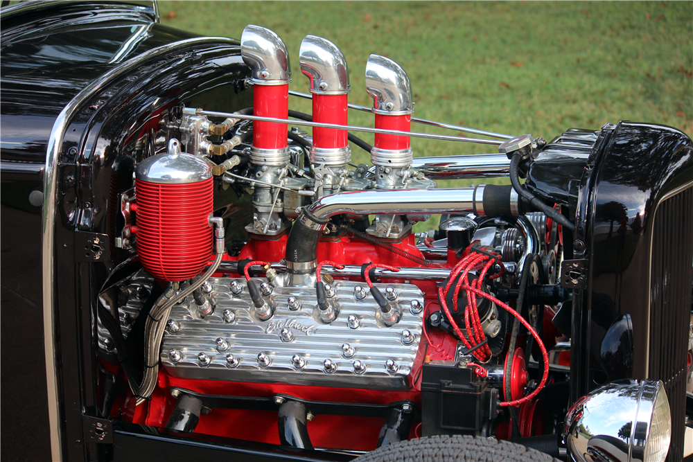 1931 FORD CUSTOM ROADSTER - Engine - 188515