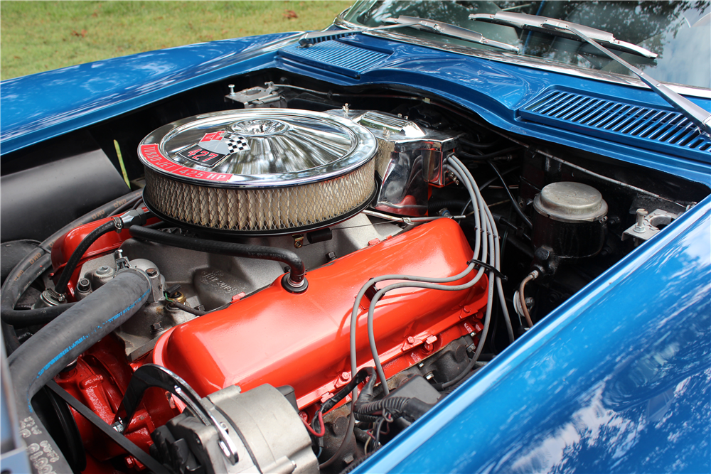 1966 CHEVROLET CORVETTE CONVERTIBLE - Engine - 188516