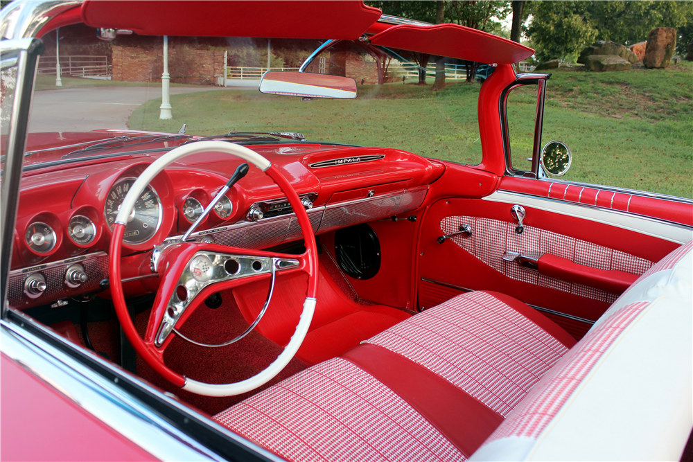 1960 CHEVROLET IMPALA CONVERTIBLE - Interior - 188517