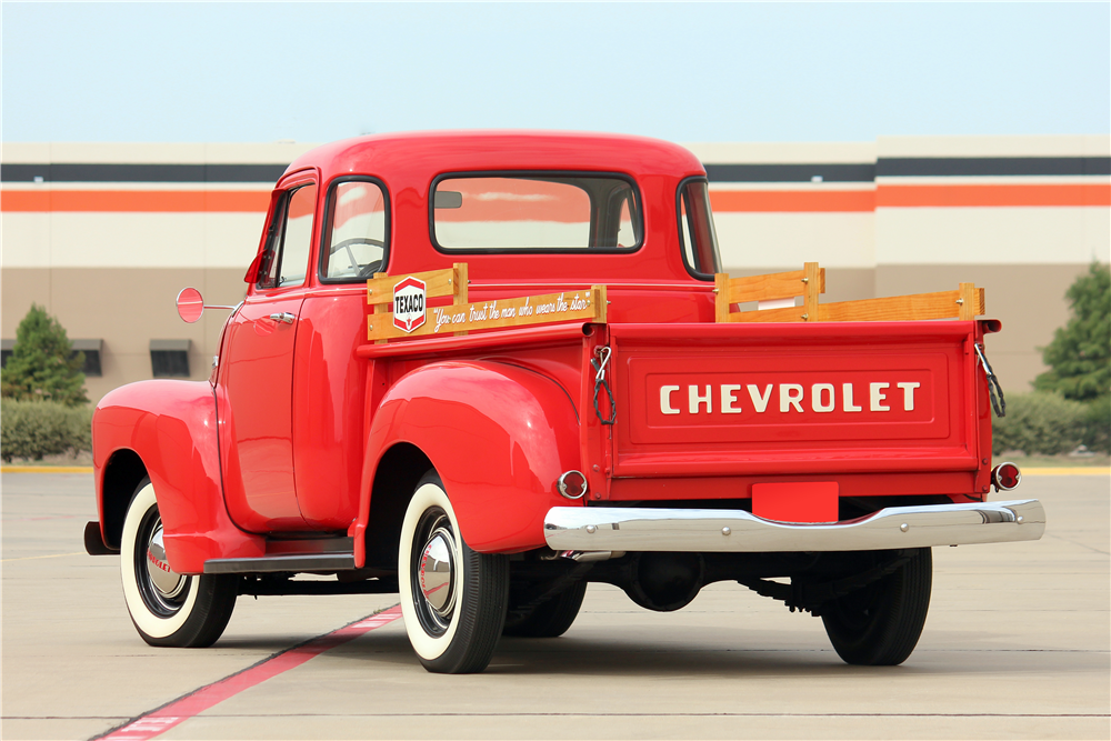 1954 CHEVROLET 3100 PICKUP - Rear 3/4 - 188518