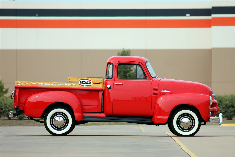 1954 CHEVROLET 3100 PICKUP - Side Profile - 188518