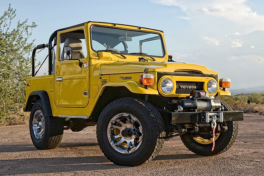 Toyota Land Cruiser Fj Custom Suv