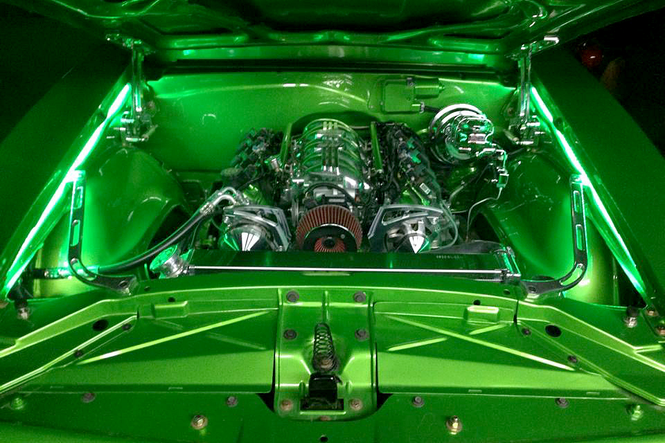 1968 PONTIAC FIREBIRD CUSTOM COUPE - Engine - 188533