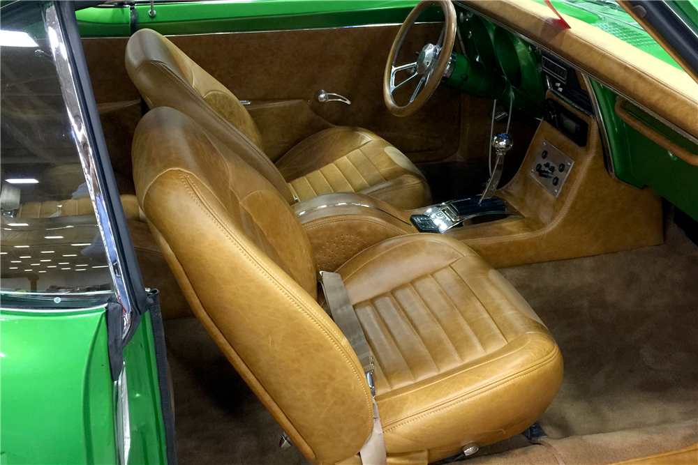 1968 PONTIAC FIREBIRD CUSTOM COUPE - Interior - 188533
