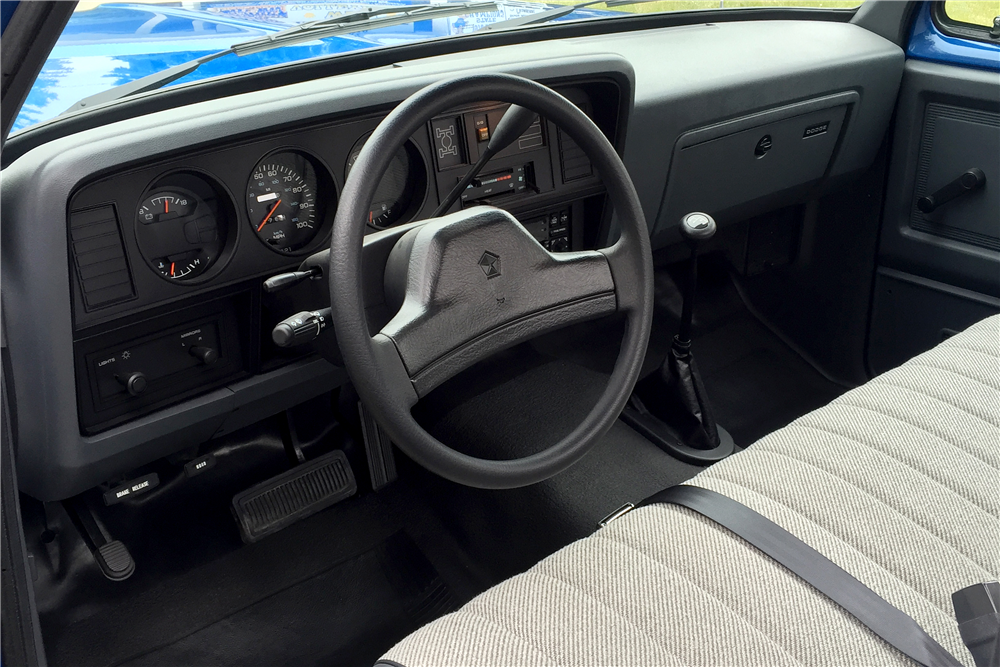 1993 DODGE RAM PICKUP - Interior - 188536
