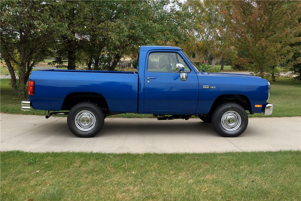 1993 DODGE RAM PICKUP - Side Profile - 188536