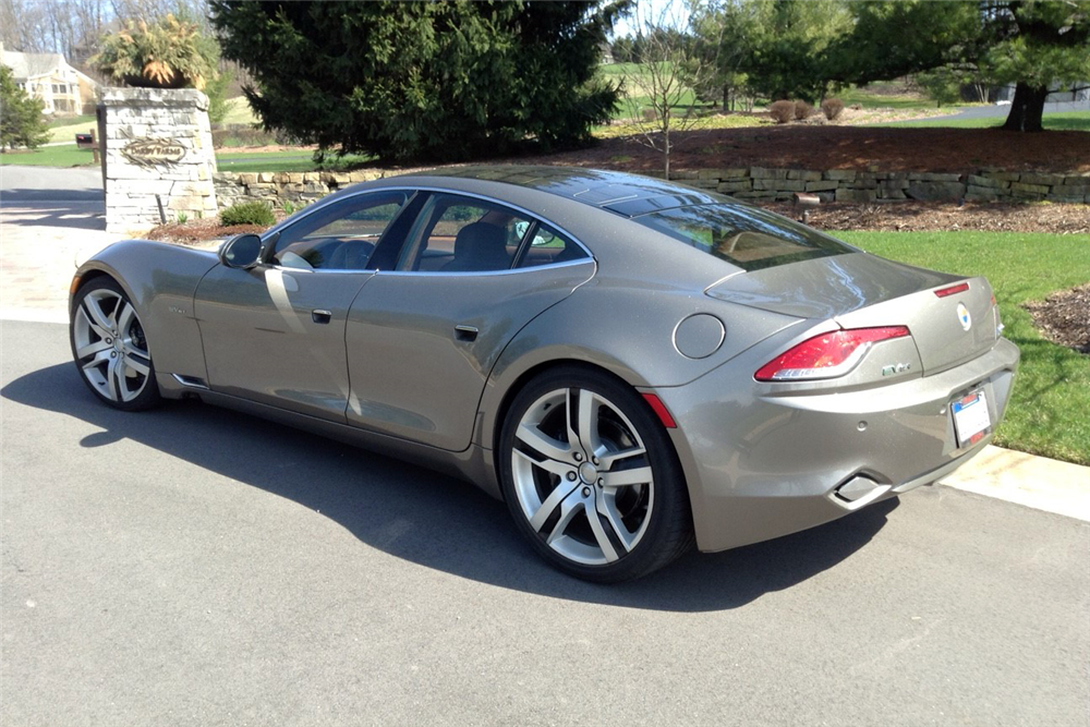 2012 FISKER KARMA ECO SPORT 4-DOOR - Rear 3/4 - 188537