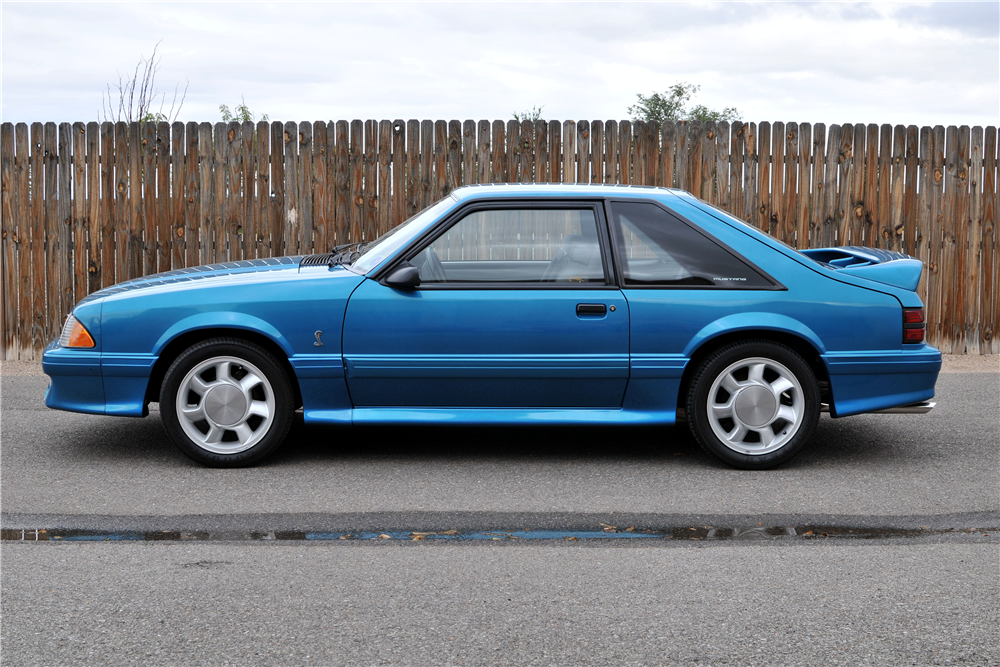 1993 FORD MUSTANG COBRA  - Side Profile - 188542