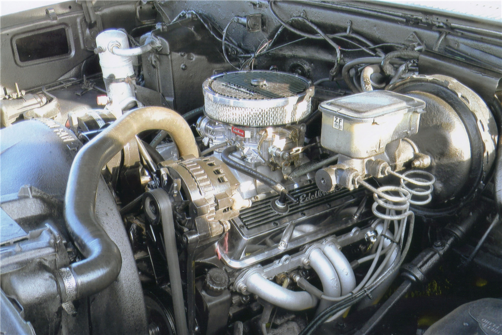 1984 CHEVROLET C-10 CUSTOM PICKUP - Engine - 188550