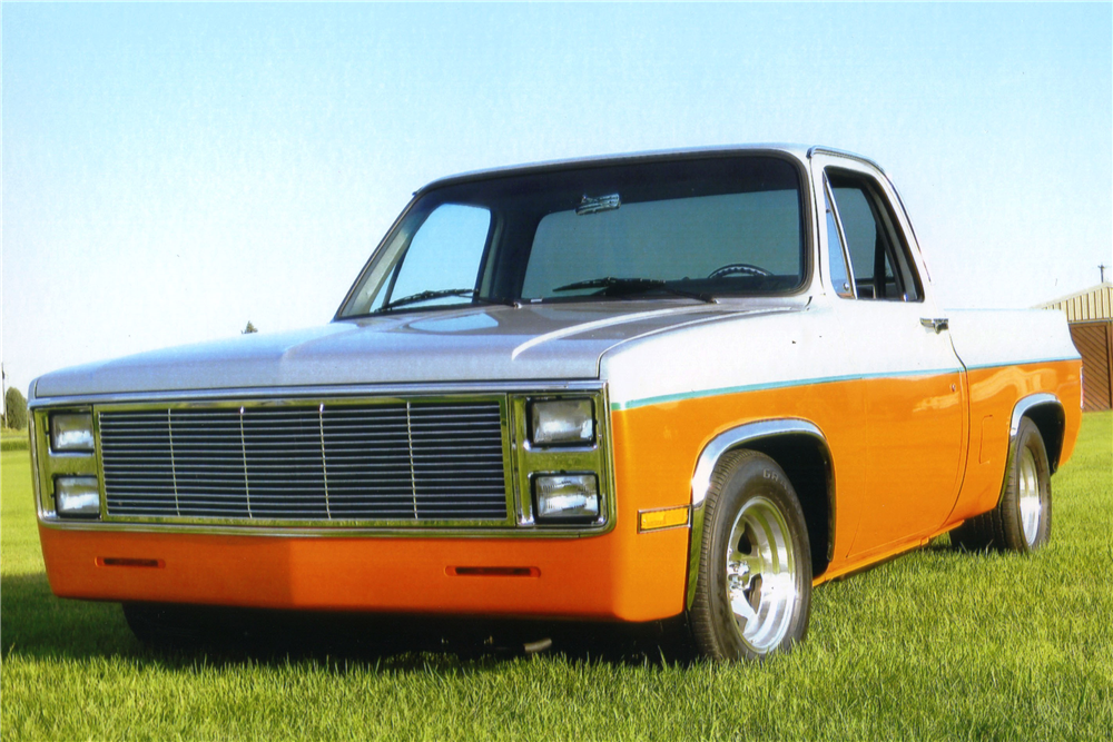 1984 CHEVROLET C-10 CUSTOM PICKUP - Front 3/4 - 188550