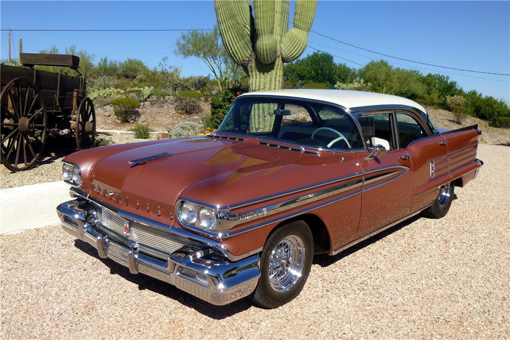 1958 OLDSMOBILE SUPER 88 4-DOOR SEDAN - Front 3/4 - 188551