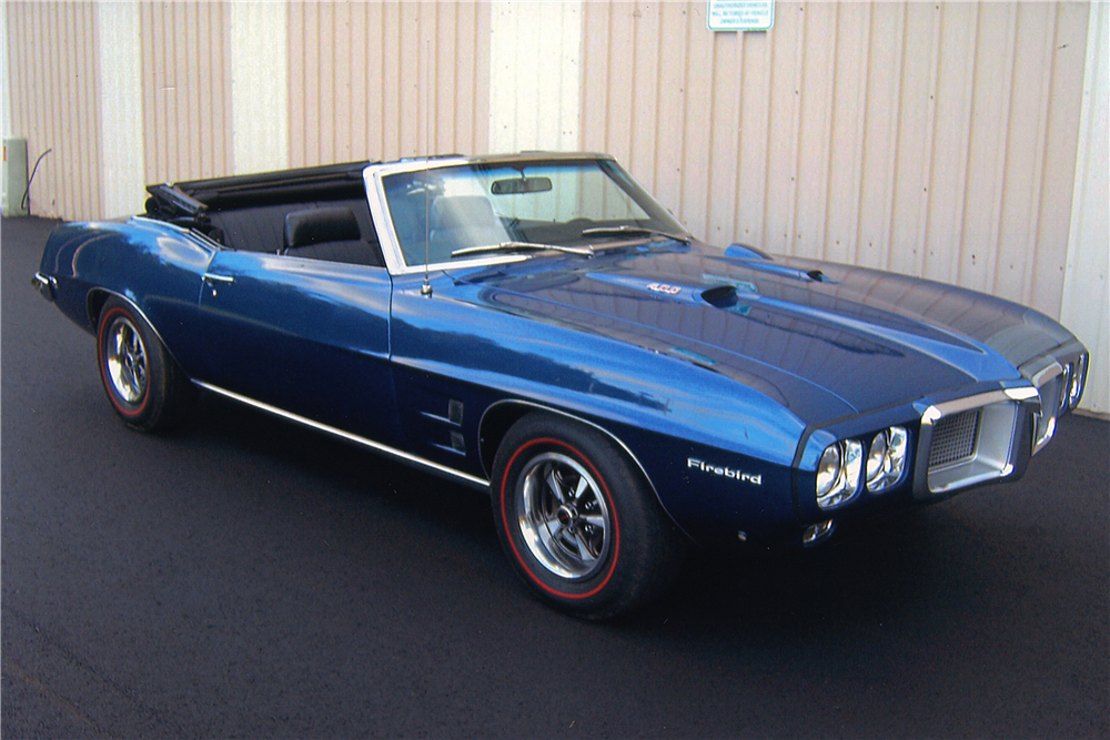 1969 pontiac firebird convertible 188556. Black Bedroom Furniture Sets. Home Design Ideas