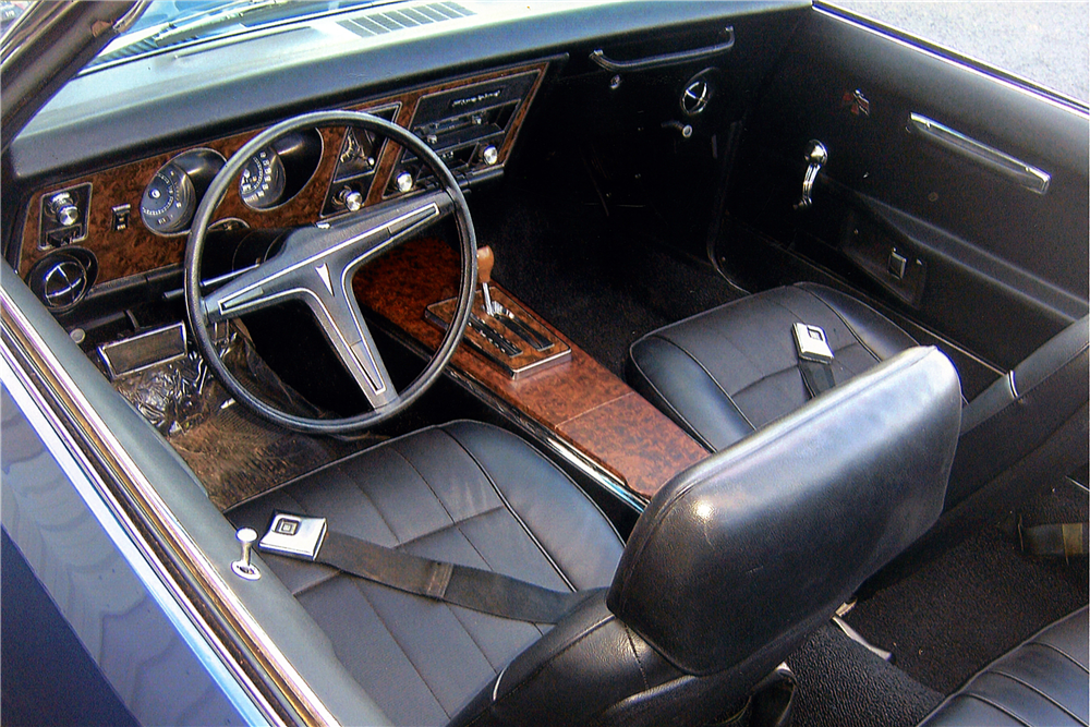 1969 PONTIAC FIREBIRD CONVERTIBLE - Interior - 188556