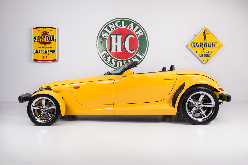 2000 PLYMOUTH PROWLER CONVERTIBLE - Side Profile - 188557