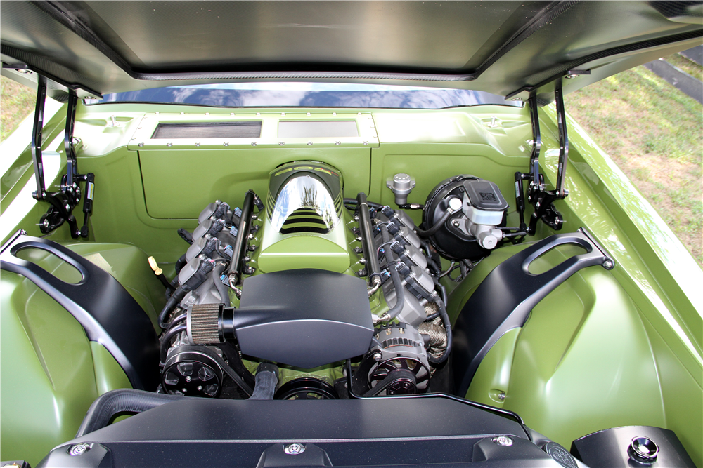 "1970 CHEVROLET CAMARO ""GRINCH"" - Engine - 188563"