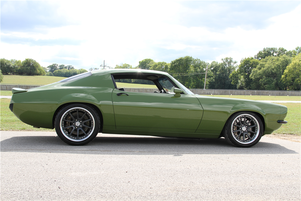 "1970 CHEVROLET CAMARO ""GRINCH"" - Side Profile - 188563"
