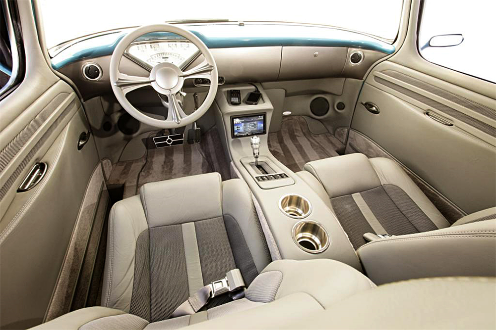 1957 CHEVROLET SUBURBAN CUSTOM - Interior - 188573