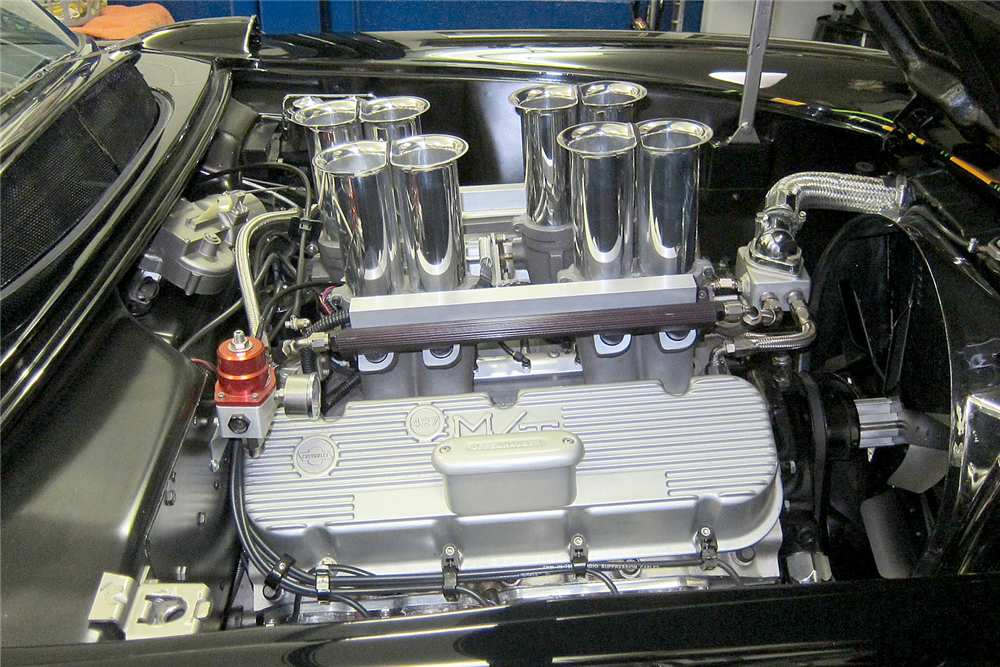 1957 CHEVROLET CORVETTE CUSTOM CONVERTIBLE - Engine - 188575