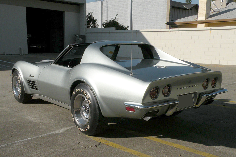 1971 CHEVROLET CORVETTE - Rear 3/4 - 188581