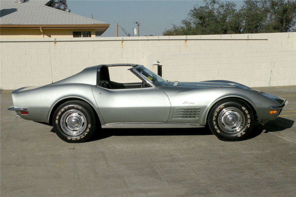 1971 CHEVROLET CORVETTE - Side Profile - 188581