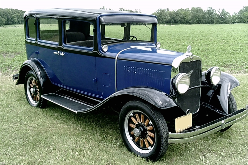 1931 DODGE BROTHERS 4-DOOR SEDAN - Front 3/4 - 188590