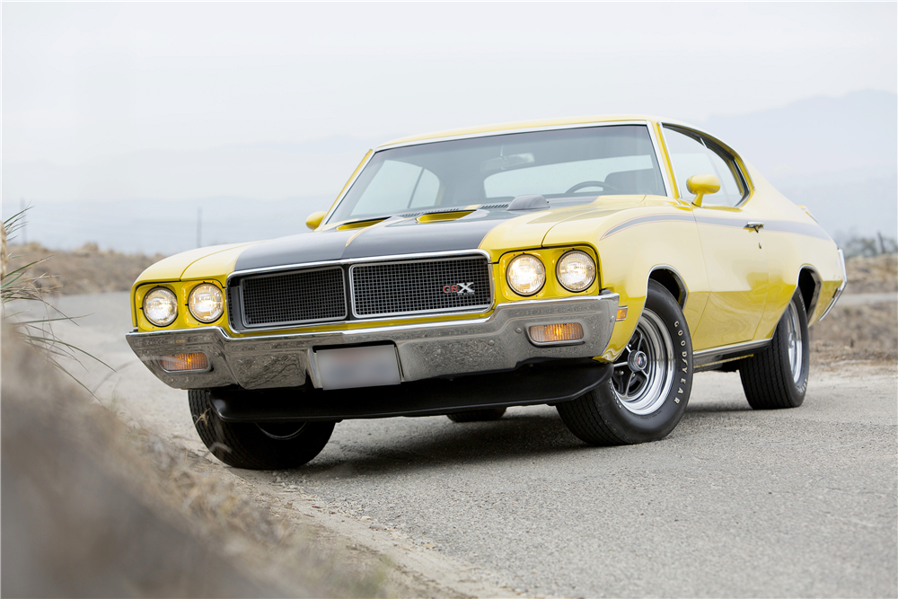 1970 BUICK GSX STAGE 1 - Front 3/4 - 188601