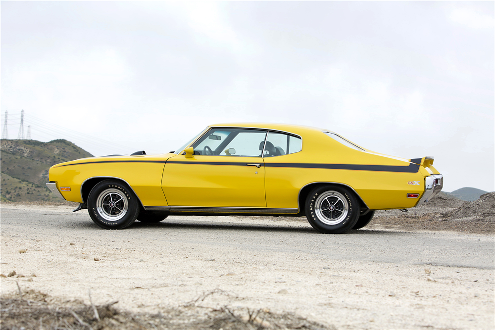1970 BUICK GSX STAGE 1 - Side Profile - 188601