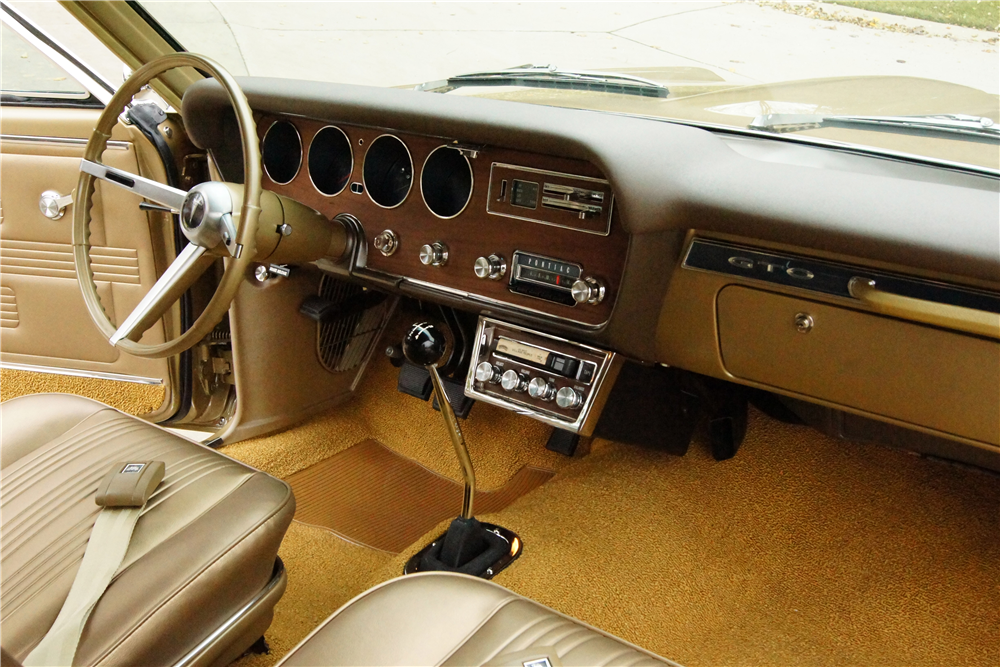 1967 PONTIAC GTO RAM AIR - Interior - 188603