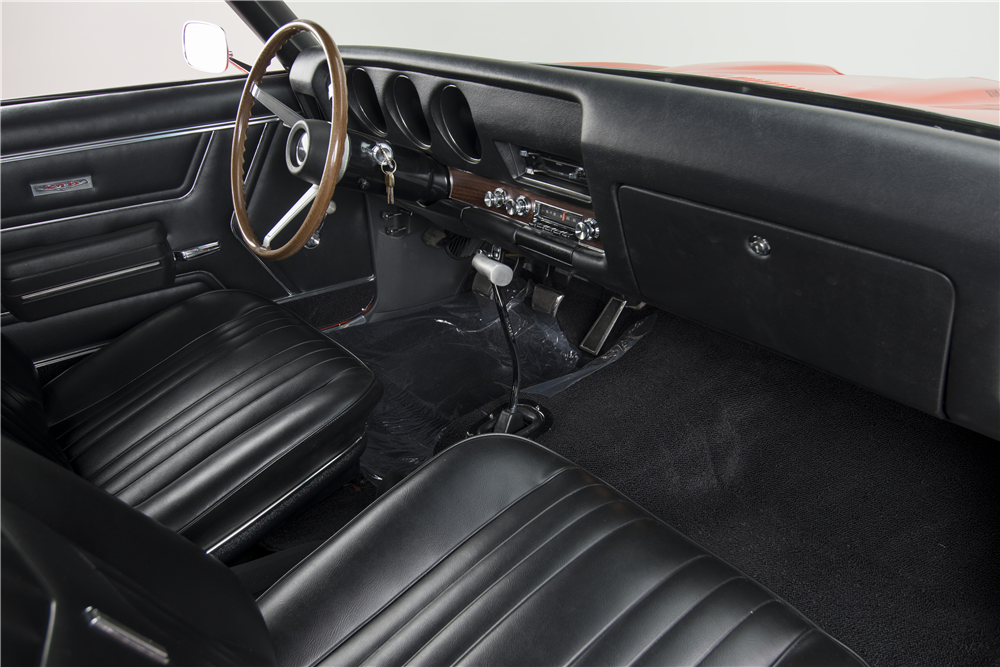 1969 PONTIAC GTO JUDGE RAM AIR IV - Interior - 188607